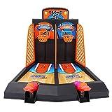 Bnineteenteam 2-Player Mini Basketball Shooting Game Toys for Kids & Family