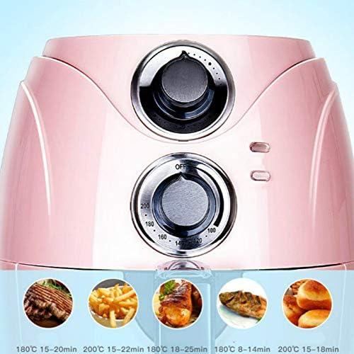 HMY Électrique Friteuses Fries Air Fryer Machine De Ménages De Petite Capacité Entièrement Automatique Intelligente Non Carburant Friteuse Électrique Four Blue