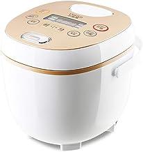 Multifunctionele kleine 2 l rijstkoker, 400 W mini-rijstbereider met legeringsvrije binnenpan, elektrische rijstkoker met ...
