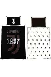 Copripiumino Juventus Singolo.Amazon It Juventus Piumini E Copripiumini Biancheria Da Letto