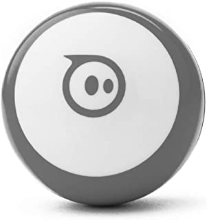 Sphero Mini (Grey) App-Enabled Programmable Robot Ball - STEM Educational Toy for Kids Ages 8 & Up - Drive, Game & Code wi...