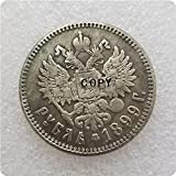 liangsen 1899 Rusia 1 Ruble Copy Monedas conmemorativas-réplicas de Monedas medallas Monedas coleccionables