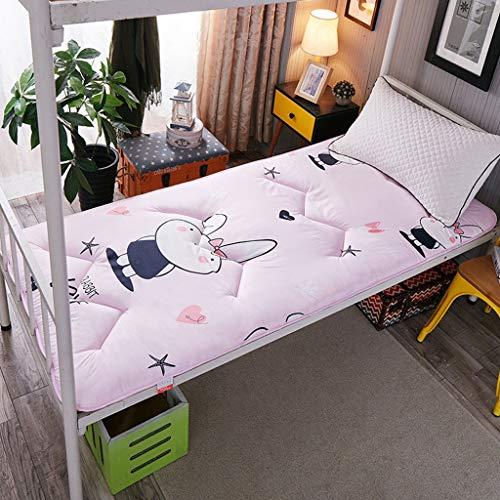 Hongyan Cojín Tatami colchón futón japonés Espesar Plegable tapetes Antideslizantes Suave colchón futón de Estudiantes compartida Litera Inicio Cama durmiendo Almohadillas de algodón