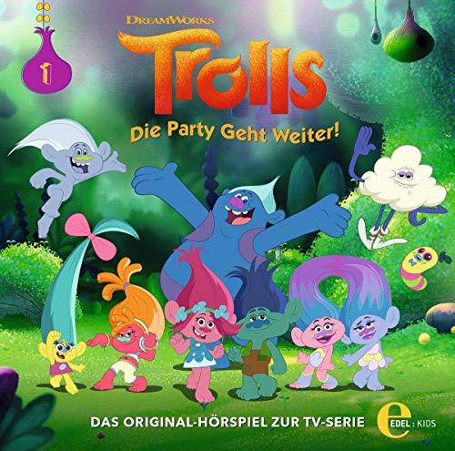 Trolls - Die Party geht weiter! - Folge 1: Regen und Sonnenschein - Das Original-Hörspiel zur TV-Serie