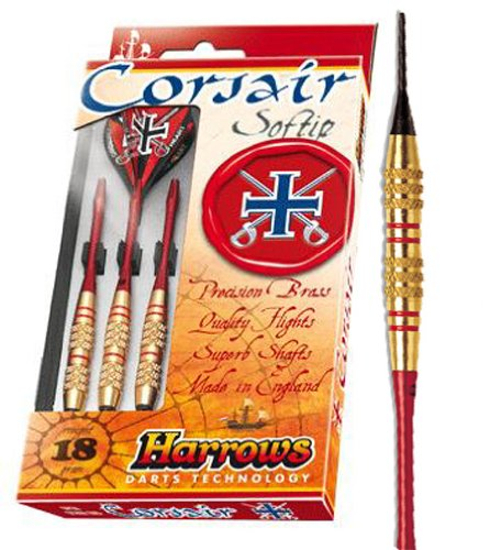 DARTPOINT Dart Harrows Corsair Blue Soft messing Gr: 16g