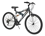 Dynacraft 26' Men's Silver Canyon Dual Suspension Mountain Bike