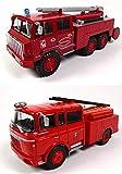 OPO 10 - Lote de 2 Camiones de Bomberos 1/43 compatibles con BERLIET GAK + FF 6x6 (P8 + P11)