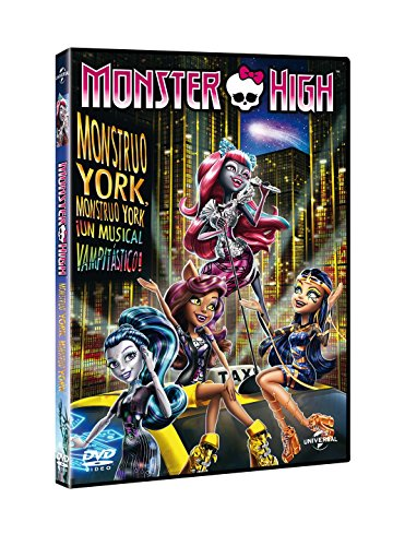 Monster High: Monstruo York, Monstruo York ¡Un Musical Vampitastico! [DVD]