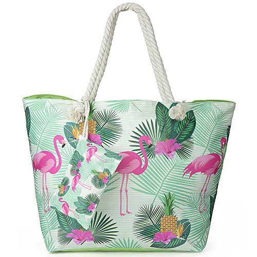 ZWOOS Oversized Beach Holiday Bag Large Waterproof Travel Tote...