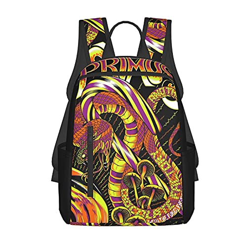 SWEET TANG Boys Grils Daypack Back to School - Abstract Snake Mushrooms Art Bookbag Casual College School Daypack Traveling & Camping Backpack, Casual Daypack Climbing Shoulder Bag