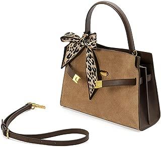 ZXK Halloween/Mobile Messenger Retro Matte Leather Handbag/Fashion Harbor Wind Spell Color Shoulder Bag Commuter Fashion (Color : Gray)
