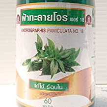 2 x Andrographis paniculata Fah Talai Jone, King of Bitterrs, Herbal capsule (60) By Best friend shop.