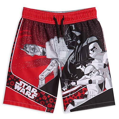 STAR WARS Darth Vader Little Boys Swim Trunks Red/Black 7
