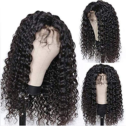 Glueless Lace Front Wig, Perruque Humaine Résistante À La Chaleur À 150% De Densité Cheveux Longs Pour Femmes Vrais Cheveux,24 inches
