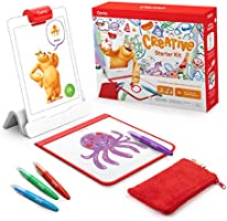 Osmo - Creative Starter Kit for iPad - 3 Educational Learning Games - Ages 5-10 - Drawing, Word Problems & Early Physics...