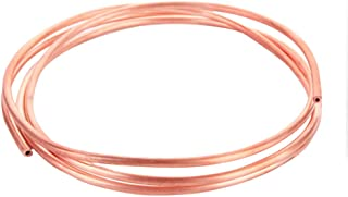 Zewoi Tubo de Cobre Suave CU Pipe, para el Aire Acondicionado de Bricolaje Equipo eléctrico, Longitud: 5000mm,OD 2mm x ID 1mm