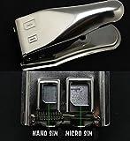 SATKIT Cortador Dual Tarjeta Sim a Microsim y Microsim a NanoSim