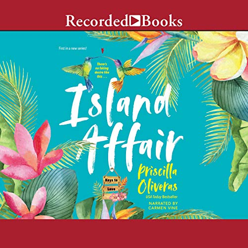 Island Affair audiobook cover art
