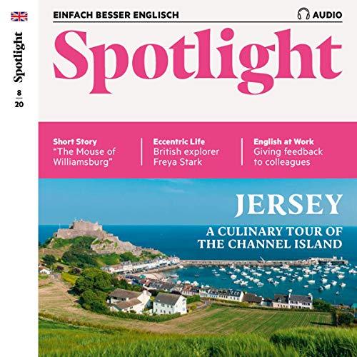 Couverture de Spotlight Audio - Jersey. 8/2020