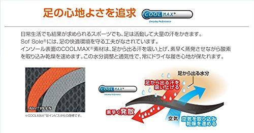 ソフソール SOFSOLE インソール エアープラス エアー構造 衝撃吸収 取替タイプ Lサイズ 25.5~27cm 17126