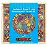 Preis am Stiel Perlenketten Bastelset Wooden Bead Bouquet | Perlen | Ketten | Kreativ | Bastelmaterial | Geschenk für Kinder | Hobby
