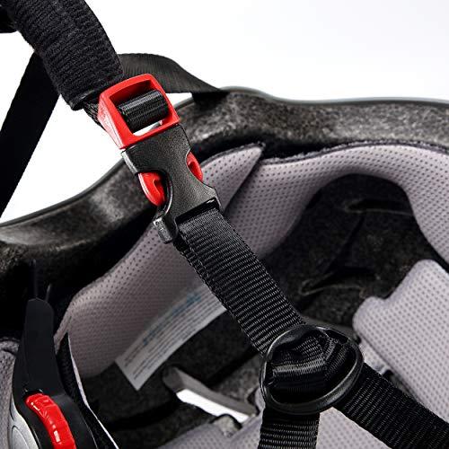 Skullcap® BMX Helm - Skaterhelm - Fahrradhelm - Totenkopf Helm - Herren Damen Jungs & Kinderhelm, schwarz, Gr. L (58 – 61 cm), Skull - 5