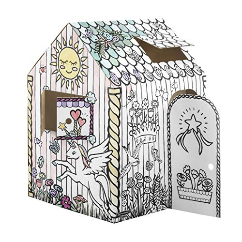 Bankers Box at Play Unicorn Playhouse, 1pk, White