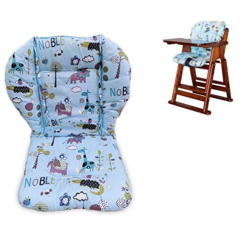 Cochecito de bebé/Coche / Silla alta Cojín del asiento Cojín del cojín de la cubierta del cojín de la almohada transpirable (Pingüino)
