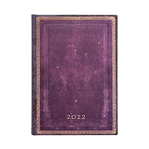 Paperblanks Agendas de 12 Meses 2022 Concordia | Un Jour par Page | Midi (130 × 180 mm)