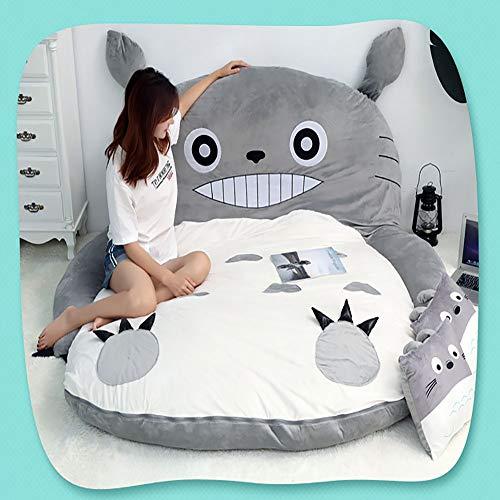 JFTY Felpa Relleno futón colchón Animal sofá Cama Multifuncional Saco de Dormir Dibujos Animados Tatami colchón Piso Alfombra para Dormir Regalo
