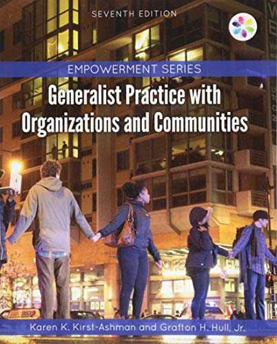Empowerment Series: Generalist Practice with Organizations and Communities