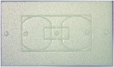 L.H. Dottie WPI25 Wall Plate Insulation Gasket, 25-Pack