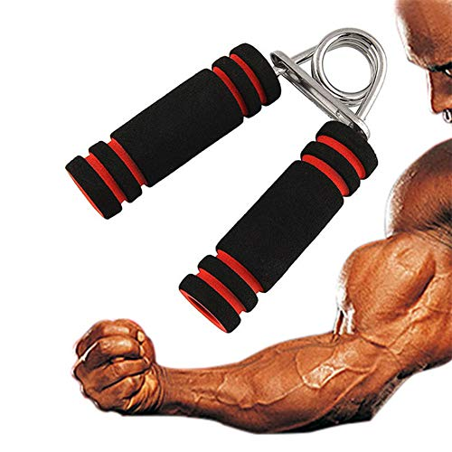WESDOO Handtrainer Hand Trainingsgerät Handfeder-Übungsgerät Handübungswerkzeug Hand Power Grip Exerciser Finger Grip Exerciser Handgriff Krafttrainer 1pcs,Freesize