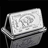 Rare German Mint 1 Onza Troy Buffalo Búfalo - Moneda plateada