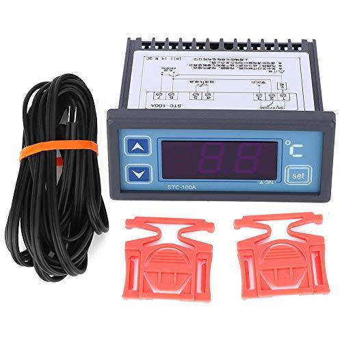 GAOX  Controlador De Temperatura STC ‑ 100A 220VAC ‑40~99 ℃ Termostato con Sensor NTC