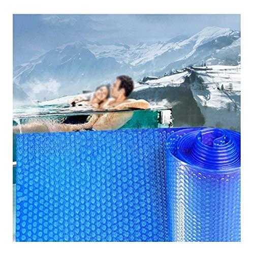 YJFENG Schwimmen Schwimmbad Startseite, Rechteckig Rahmen Solar Startseite, 400um Sport Blase Wärmeisolierung, Wasserdicht Staubdicht Für Aufblasbare Pools, Whirlpool, Planschbecken