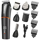 roziaplus beard trimmer hair clippers 6 in 1 multifunctional trimmerformen with nose hair trimmer