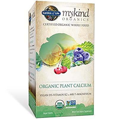 Garden of Life Kind Organics Plant Calcium Tablets