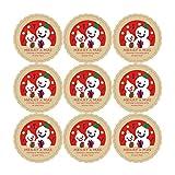 HENJIA Weihnachtsmusik Schneemann Selbstklebende Siegel Aufkleber Geschenke Label Sticker DIY...