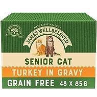 James Wellbeloved Cat Senior Turkey Pouch x 1