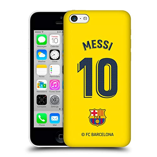 Head Case Designs Officially Licensed FC Barcelona Lionel Messi 2019/20 Players Away Kit Group 1 Hard Back Case Compatible with Apple iPhone 5c