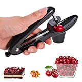 YEVIOR Cherry Pitter Tool, Portable Olive and Cherry Pitter Remover, Multi-Function Fruit Corer and...