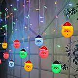 Stringa LED con Babbo Natale