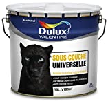 DULUX VALENTINE 5262303 sous-Couche Phase Aqueuse Universelle Peinture, Blanc,...