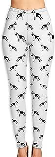 Women's Yoga Pants German Shepherd Stretchy Sport Gym Leggings S-XL