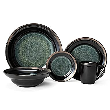 Gourmet Basics Jade 40 Piece Dinnerware Set, Service for 8
