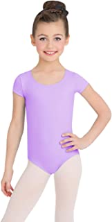 Girls' Team Basic Short Sleeve Leotard