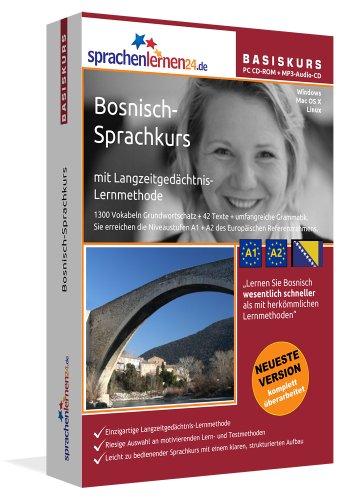 Bosnisch lernen für Anfänger (A1 / A2). Lernsoftware für Windows / Linux / Mac inkl. Audiovokabeltrainer