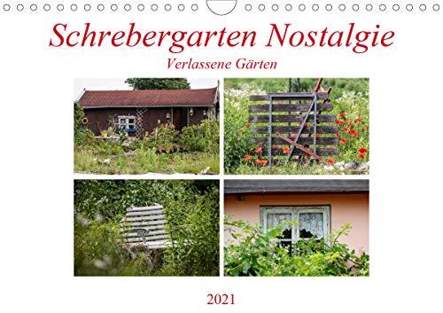 Schrebergarten Nostalgie (Wandkalender 2021 DIN A4 quer)