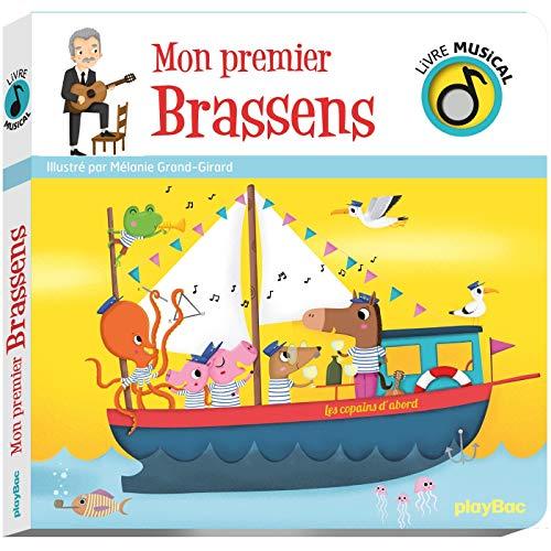 Livre musical - Mon premier Brassens